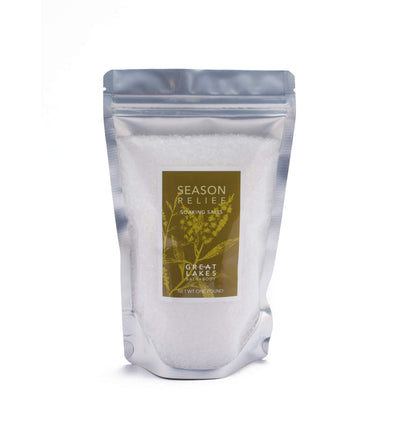Season Relief Soaking Salts - Great Lakes Bath & Body