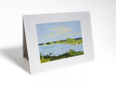 Citizen Artist Card-Lighthouse Point West - Great Lakes Bath & Body