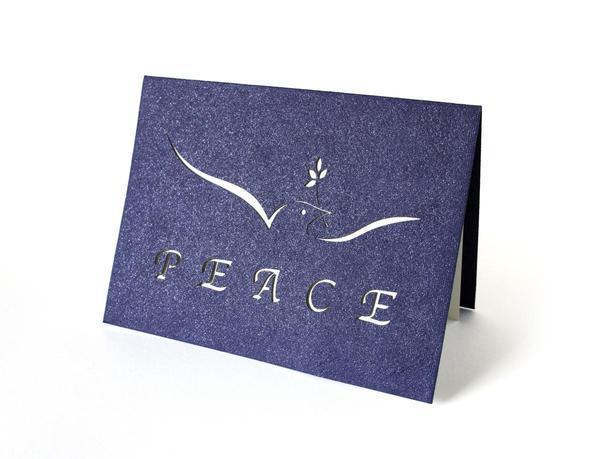 Holiday Card-Peace Dove - Great Lakes Bath & Body