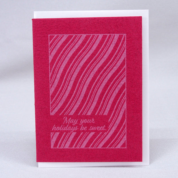 Holiday Card-Candy Cane - Great Lakes Bath & Body