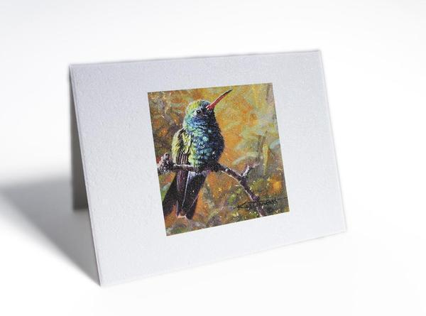 Citizen Artist Card-Broadbilled Hummingbird - Great Lakes Bath & Body