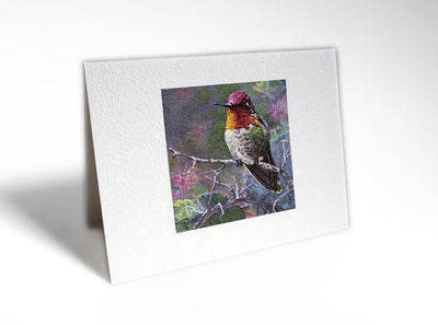 Citizen Artist Card-Anna's Hummingbird - Great Lakes Bath & Body