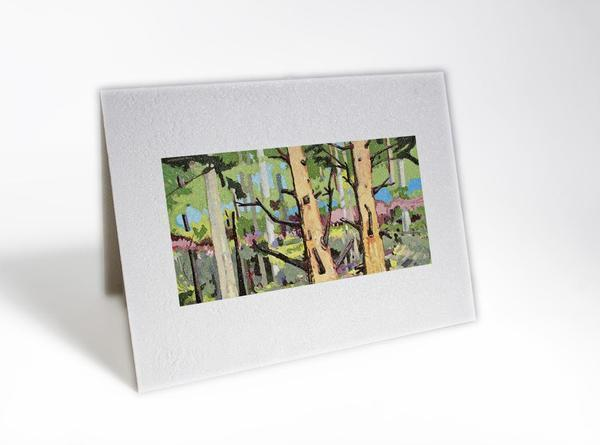 Citizen Artist Card-Through The Woods 3 - Great Lakes Bath & Body