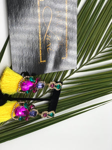 Cardi B. Inspired- Carnival Style Earrings