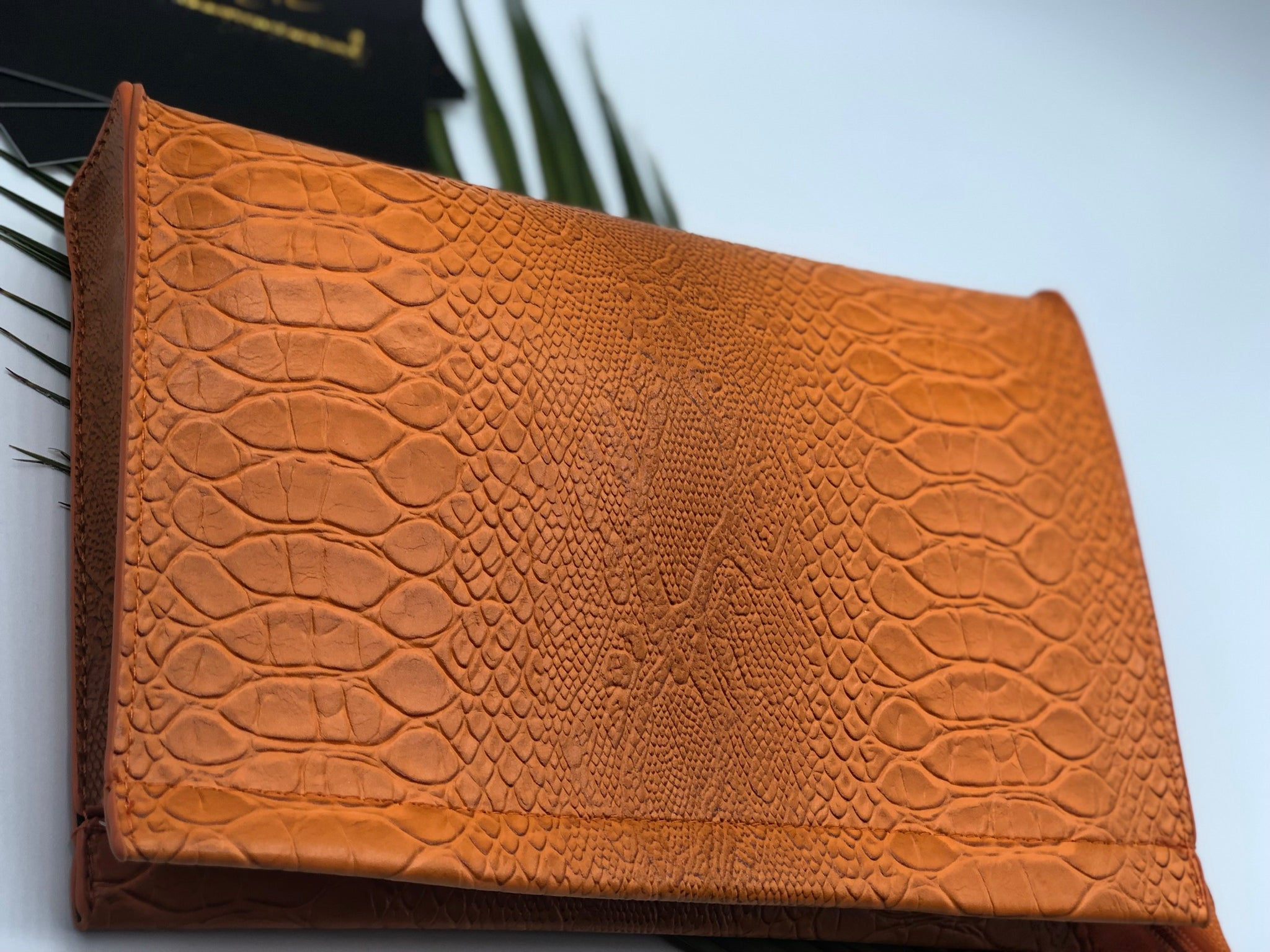 Summer Feels- Snake Print Clutch
