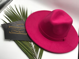 Boss Chic-Wide Brim Fedora