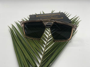 I Am Style- Geometric Full Frame Sunglasses