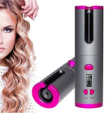 Portable & Cordless Auto Rotating Hair Curler
