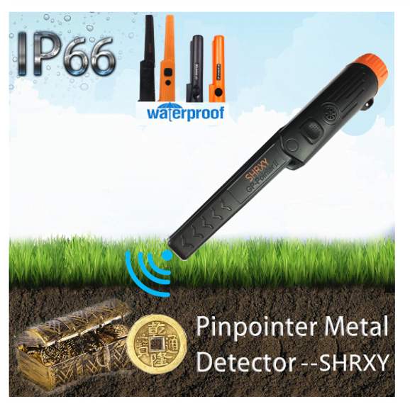Pinpointing Metal Detector