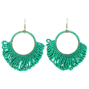 Trendy Maxi Drop Earrings