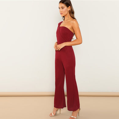 Charlotte's One Shoulder Jumpsuit