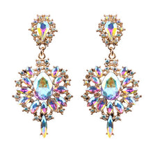Load image into Gallery viewer, Colourful Drop Earrings