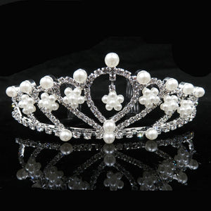 Princess Crown Headband Crystal