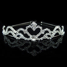 Load image into Gallery viewer, Princess Crown Headband Crystal