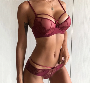 Narla Push up bra set
