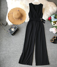Load image into Gallery viewer, V-neck Jumpsuit