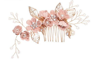 Luxury Flower Hair Combs Headdress