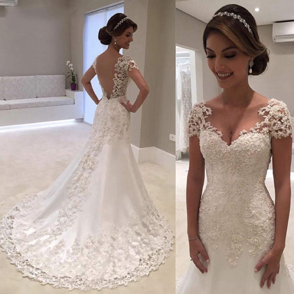 Mary Backless Wedding Dress