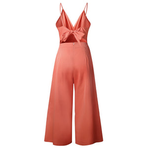 Back Bow Jumpsuit