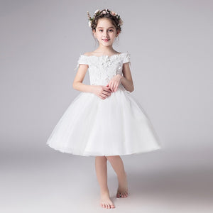 Flower Girl Beaded Dress