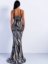 Load image into Gallery viewer, Sequin Maxi Dress