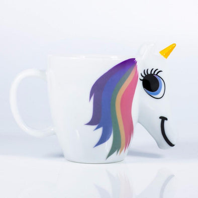 Heat Colour Changing Unicorn Mug