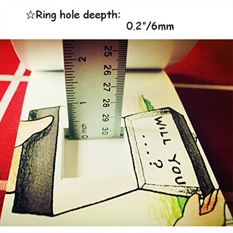 Creative Flip Book for Hiding Your Ring for Valentine's Day