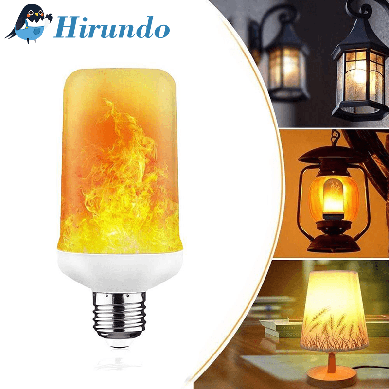 Hirundo® LED Flame Light Bulb with Gravity Sensor