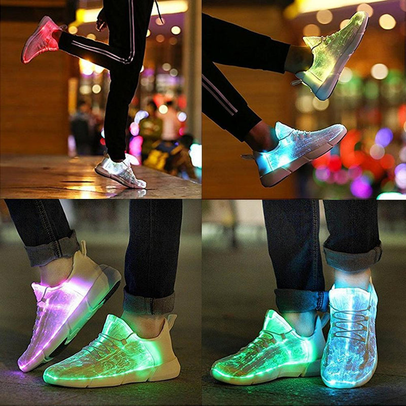 LED Shining Shoes Cool Sneakers with USB charging