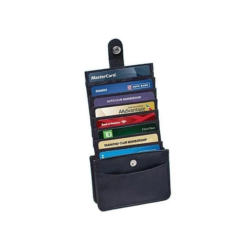 Amazing Easy Access Vertical Wallet with RFID Blocking