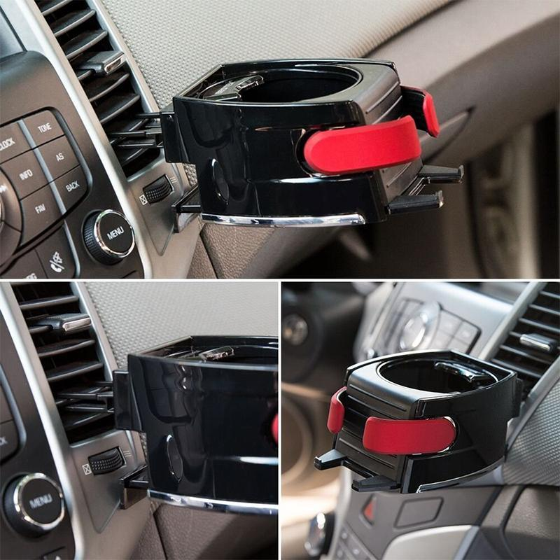 Phone & Cup Air Vent Clip-on Holder