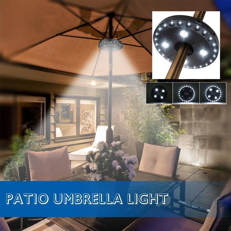 Patio Umbrella Light Outdoor Cantilever