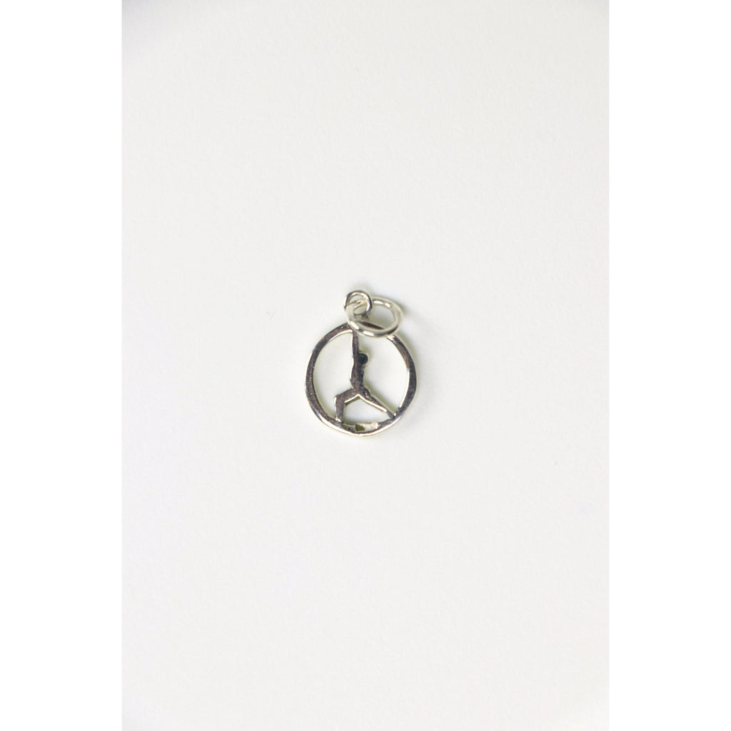 Yoga Reverse Warrior Charm - Freedom - Wall Street Clothing