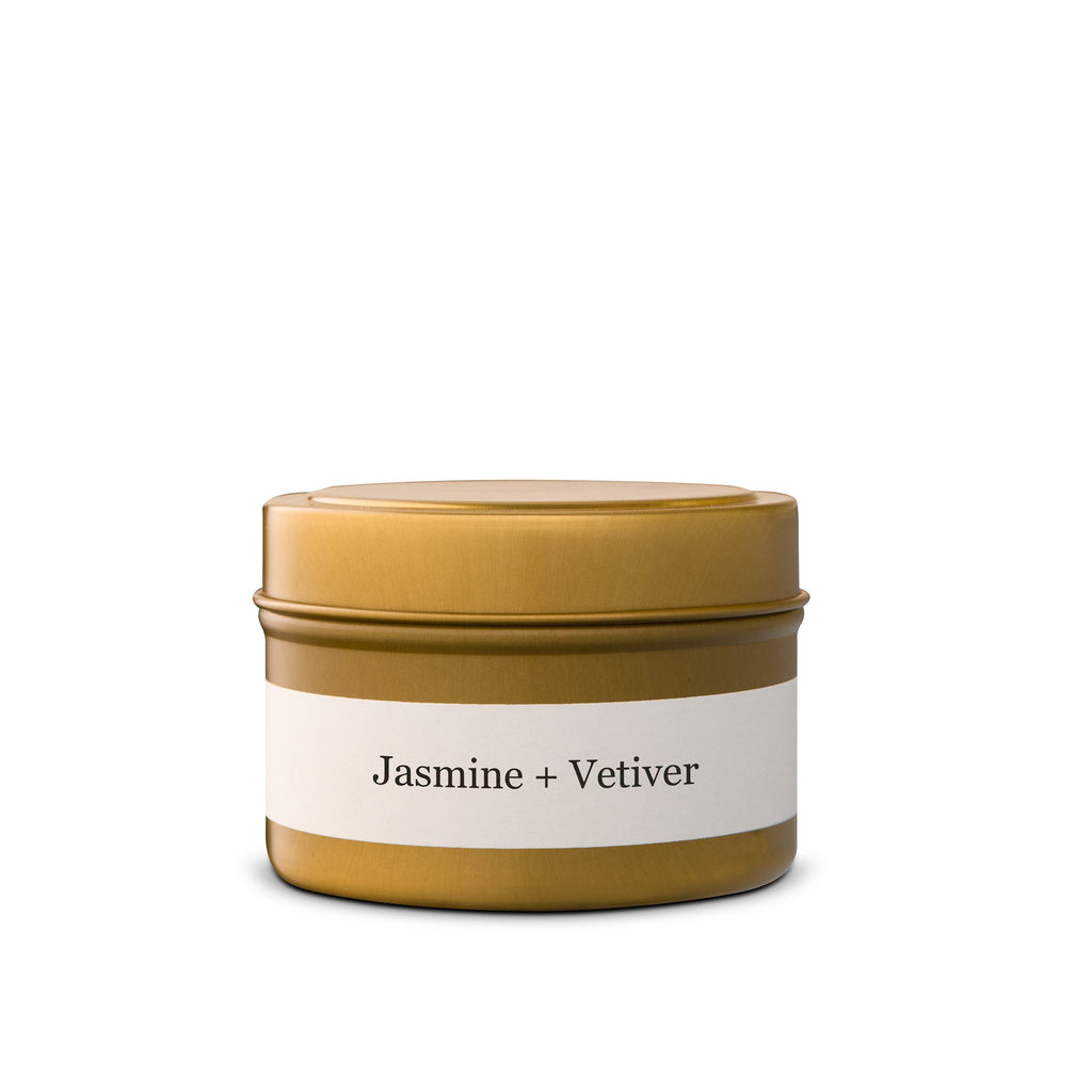 Jasmine + Vetiver Tin - Brand & Iron - Wall Street Clothing