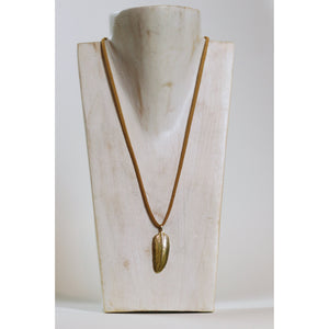 Large Feather Necklace - Freedom - Wall Street Clothing