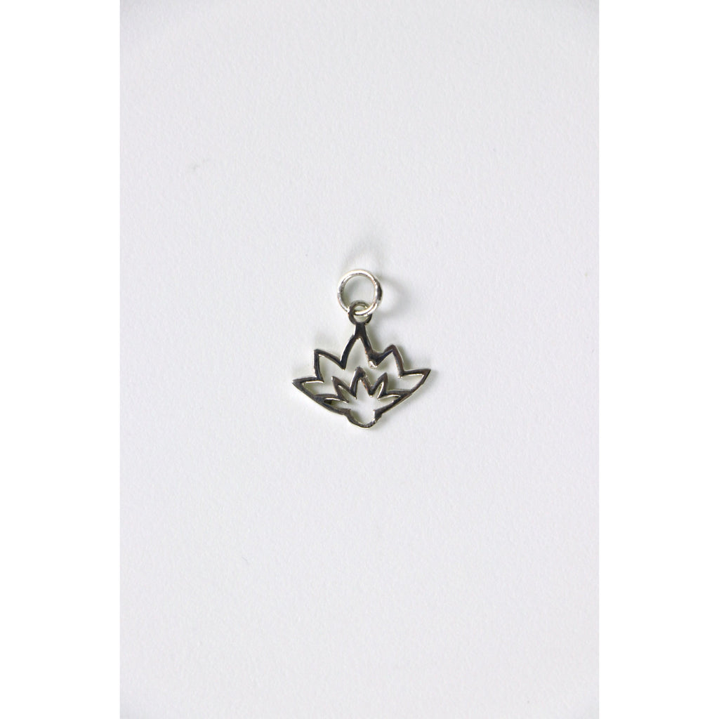Lotus Wire Charm - Freedom - Wall Street Clothing