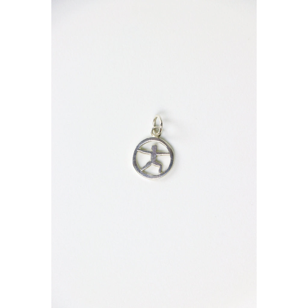 Yoga Warrior Charm - Freedom - Wall Street Clothing