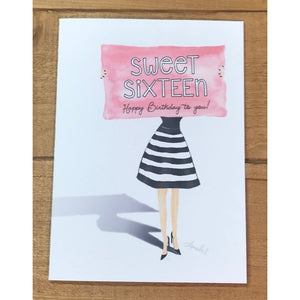 Sweet Sixteen - Paper Queen - Wall Street Clothing