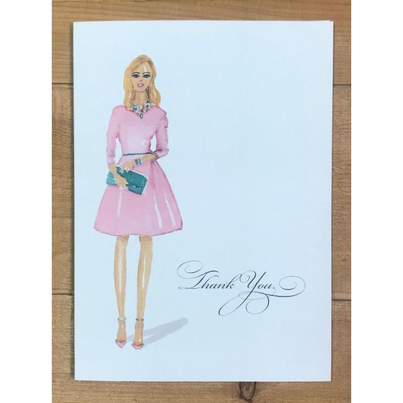 TY Pink Card - Paper Queen - Wall Street Clothing