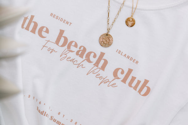 The Beach Club Collection - T-shirts and Tote Bags