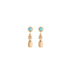ALOHA PINEAPPLE EARRINGS