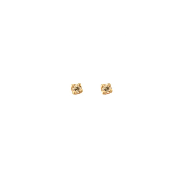 COMET STUD EARRINGS DIAMOND