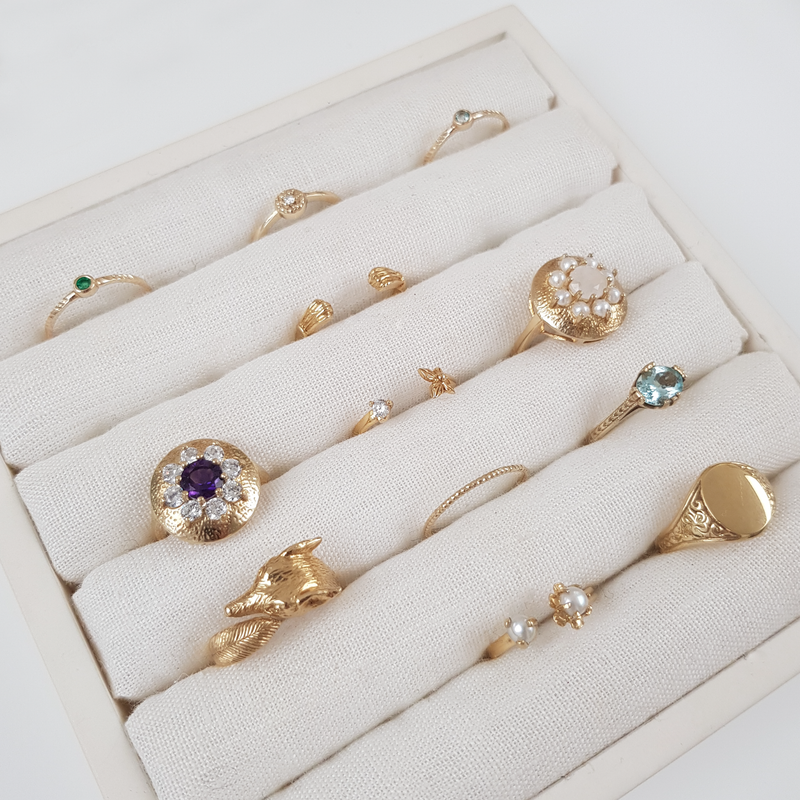 PLANTATION BEETLE RING BERYL