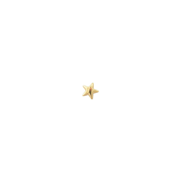 TINY NORTH STAR STUDS SINGLE