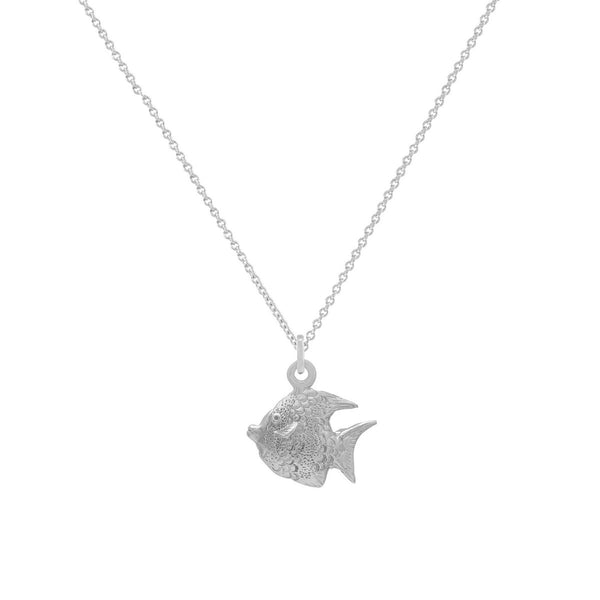 ANGEL-FISH-PENDENT-SILVER-NECKLACE-CABINET-JEWELLERY
