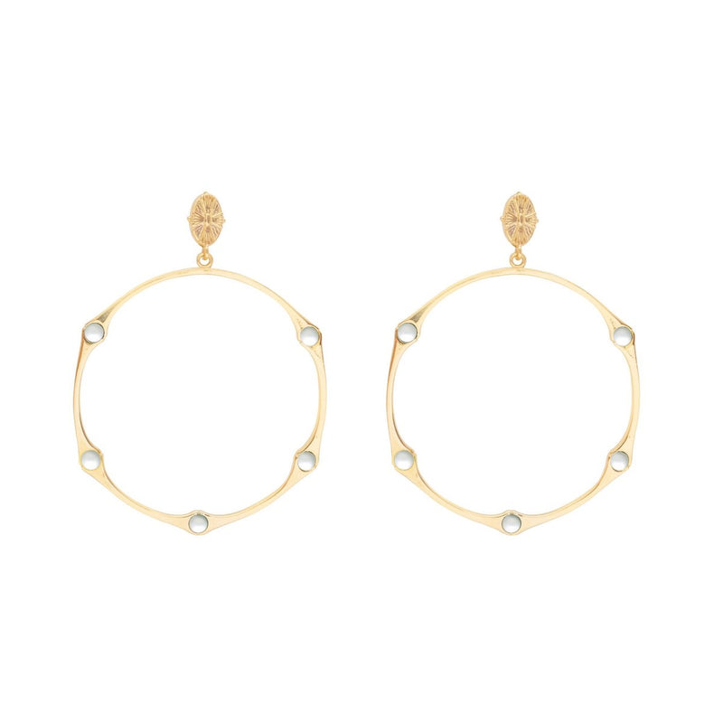 BAMBOO-PEARL-HINGED-SHELL-TOP-HOOP-EARRING-CABINET-JEWELLERY
