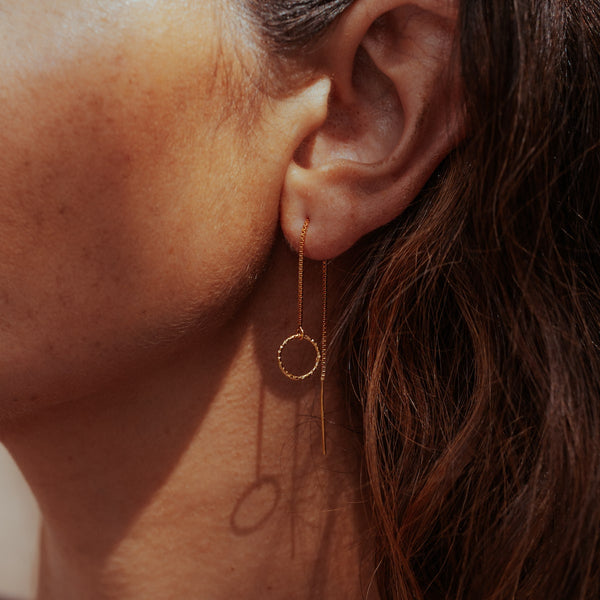 Threader Sparkle Earrings