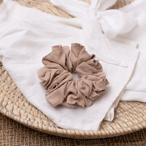 The Pink Clay Scrunchie
