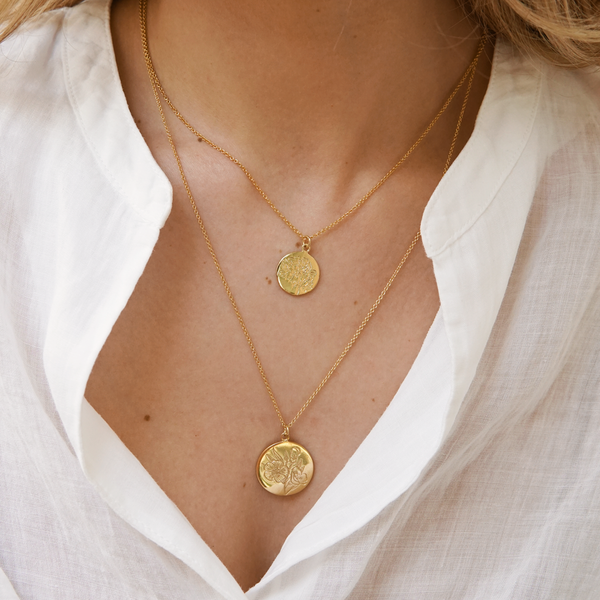GRACE COIN PENDANT