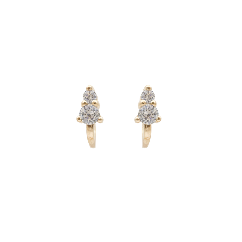 DAWN STUD EARRINGS DIAMOND